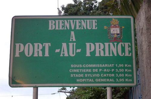 Article : Port-au-Prince, ville de contrastes