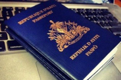 Article : L'immigration en Haïti, un service à l'agonie !