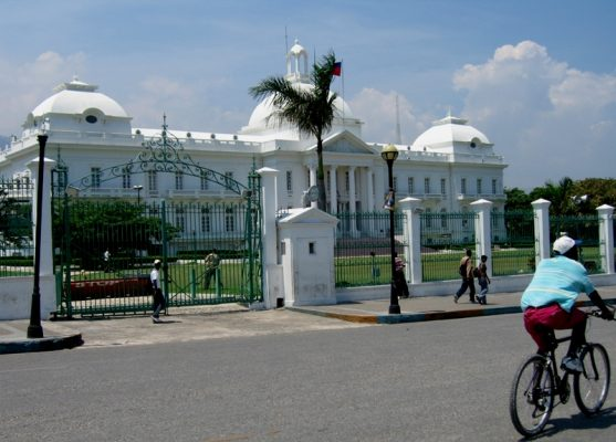 Le Palais National d'Haiti