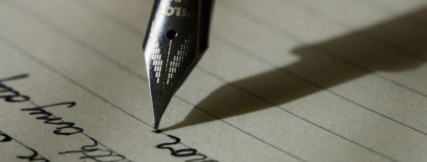 stylo, écriture, attente